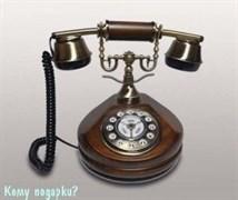 Ретро телефон, 18x18x22 см