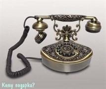 Ретро телефон, 16x12x16 см