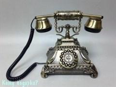Ретро телефон, металл