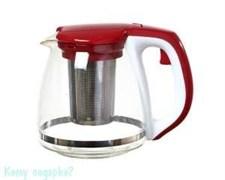 Заварочный чайник с фильтром, 1400 мл, красная крышка