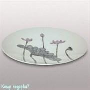 Тарелка декоративная «Цветы», d=45 см
