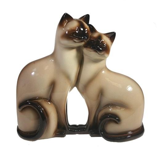 Фигура декоративная Кошки сиамские 713433/C007 - фото 102799