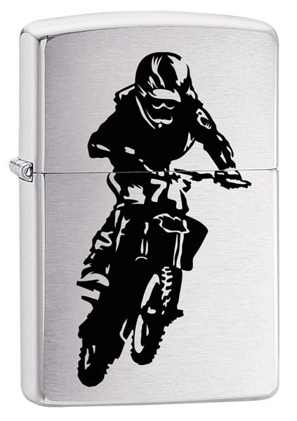 Зажигалка MotorCross Rider Zippo 29207 - фото 102976
