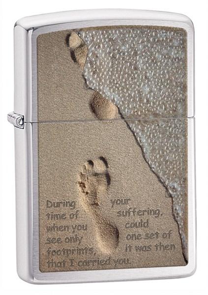 Зажигалка Footprint Зиппо (Zippo) 28180 - фото 102994