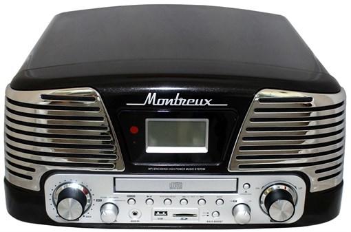 Проигрыватель Playbox Montreux PB-106D-BK - фото 106890