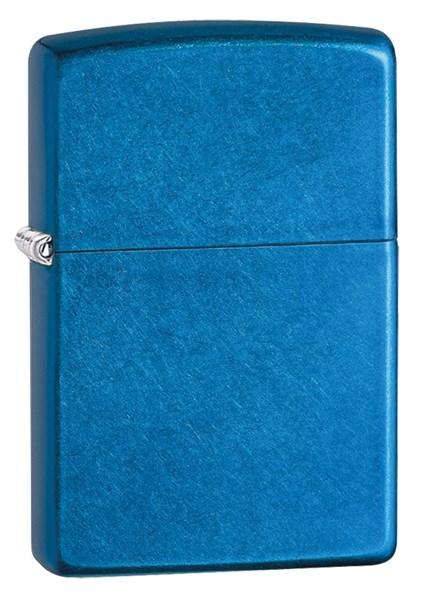 Зажигалка Зиппо (Zippo) Classic с покрытием Cerulean - фото 172484