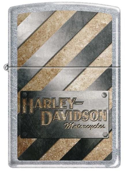 Зажигалка Harley-Davidson® Zippo 207HD METALL STRIPED - фото 173724