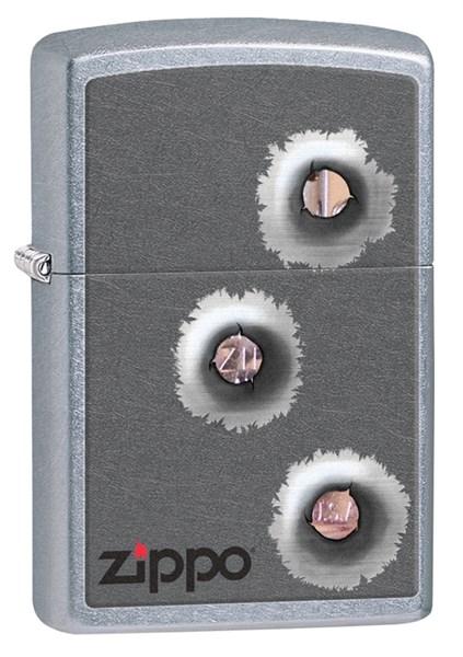 Зажигалка ZIPPO Classic с покрытием Street Chrome™, латунь/сталь, серебристая, матовая, 36x12x56 мм - фото 184689