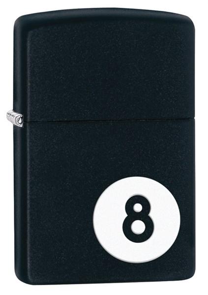 Зажигалка Зиппо (Zippo) Classic с покрытием Black Matte, латунь/сталь, чёрная, матовая, 36x12x56 мм - фото 184691