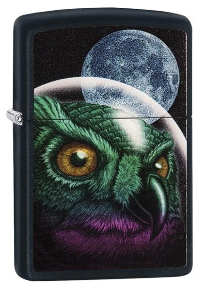 Зажигалка ZIPPO Classic с покрытием Black Matte, латунь/сталь, чёрная, матовая, 36x12x56 мм - фото 184705