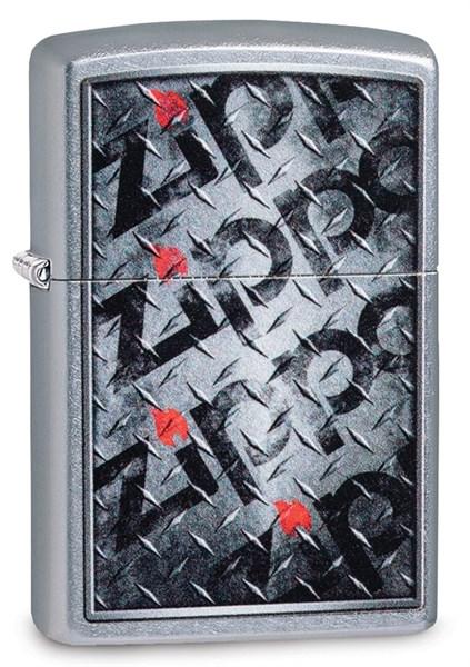 Зажигалка Zippo Diamond с покрытием Street Chrome™, 29838 - фото 184790