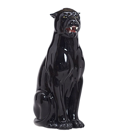 Статуэтка ростовая Черная пантера CB-351-N - фото 185709