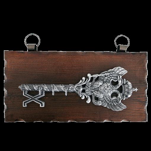 Ключница настенная, хром. KL-841 - фото 185712