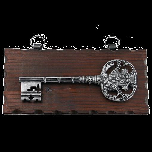 Ключница настенная, хром. KL-842 - фото 185714