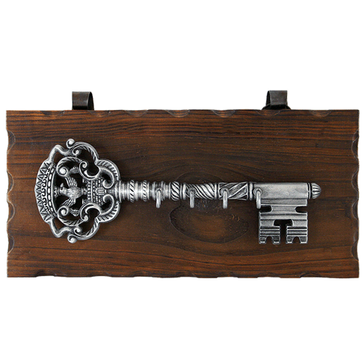 Ключница настенная, хром. KL-843 - фото 185715
