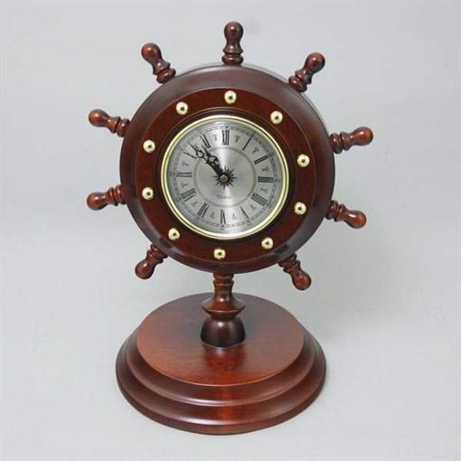 Часы настольные штурвал Н-2-Ч - фото 185892