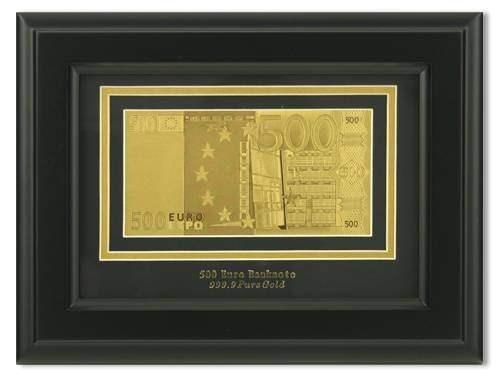 Картина с банкнотой 500 Euro HB-045 - фото 185898
