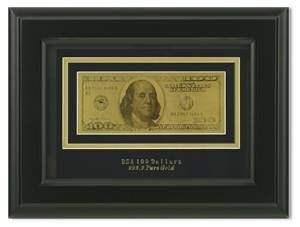Картина с банкнотой 100$ HB-077 - фото 185899