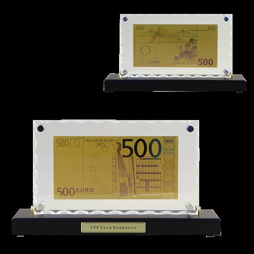 Картина с банкнотой 500 Euro HB-059 - фото 185900