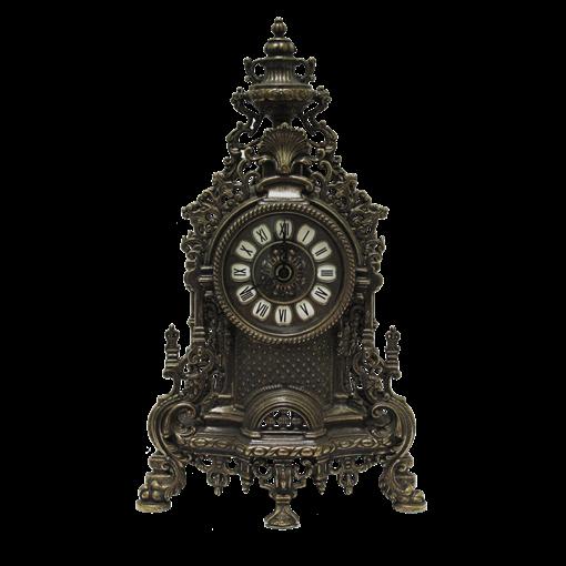 Часы Барокко каминные под бронзу AL-82-103-ANT - фото 186116