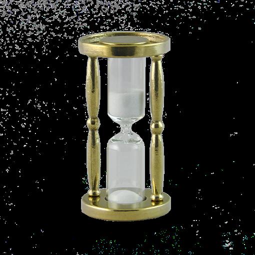 Часы песочные 3 мин AL-80-239-1 - фото 186191