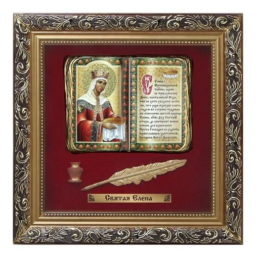 Православное панно Святая Елена бол. багет ПР-13-Б - фото 186292
