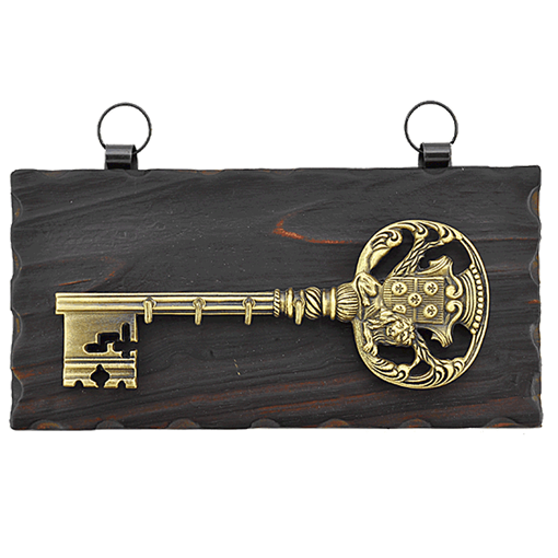 Ключница настенная, зол. KL-842-B - фото 186305