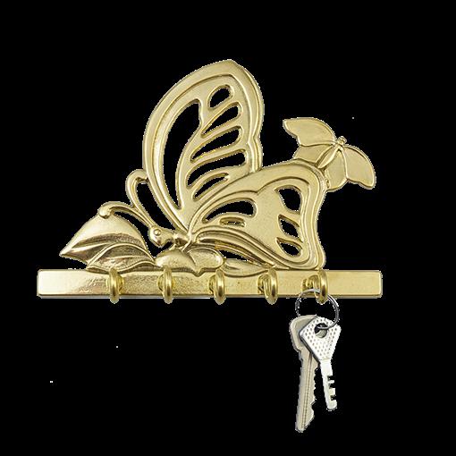 Ключница Бабочка AL-80-301 - фото 186360