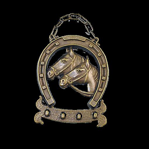 Ключница Подкова малая антик AL-80-306-ANT - фото 186362