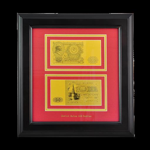 Картина с банкнотой 100 руб. HB-793 - фото 186427