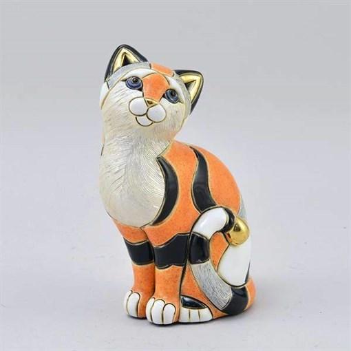 Статуэтка керамическая Кошка Калико DR-F-158 - фото 186517