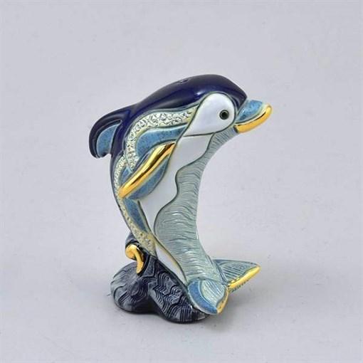 Статуэтка керамическая Дельфиненок DR-F-359 - фото 186527