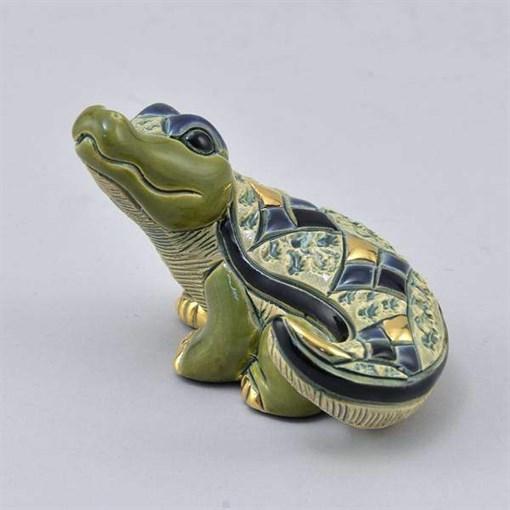 Статуэтка керамическая Детеныш нильского крокодила DR-F-362 - фото 186528