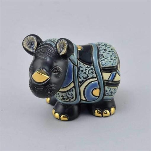 Статуэтка керамическая Детеныш носорога яванского DR-F-364 - фото 186530