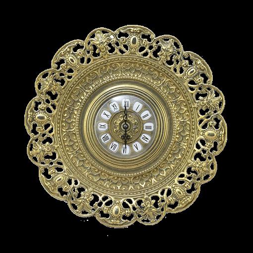 Часы-блюдо в рамке Барокко AL-82-104 - фото 186559