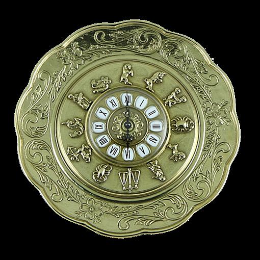 Часы- блюдо металлические AL-82-105 - фото 186590