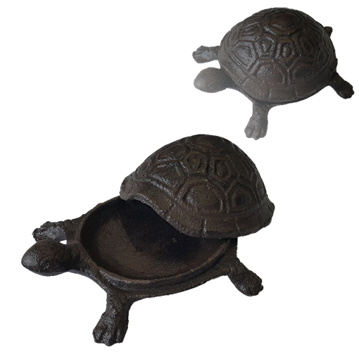 Шкатулка чугун Черепаха YM-KH-6063 - фото 186660