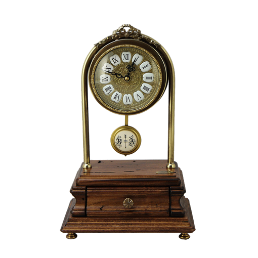 Часы настольные с маятником FC-3718 - фото 186700