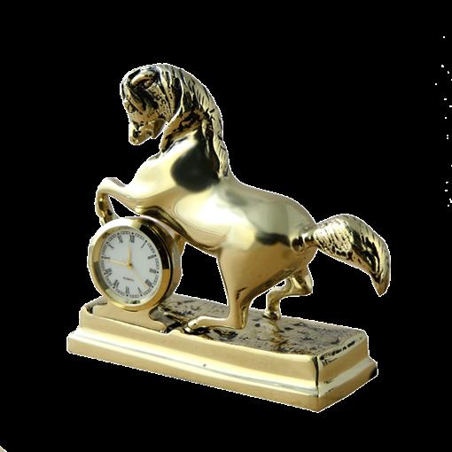 Часы Лошадка, золото BP-28007 - фото 186741