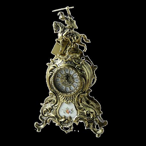 Часы Дон Жоан большие с керамикой, золото BP-27049-D - фото 186757