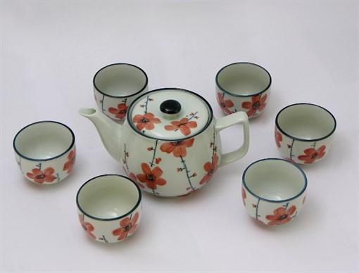 Восточная посуда набор для чая  Чай с Каркаде  6 персон CC-TP-553 - фото 186836