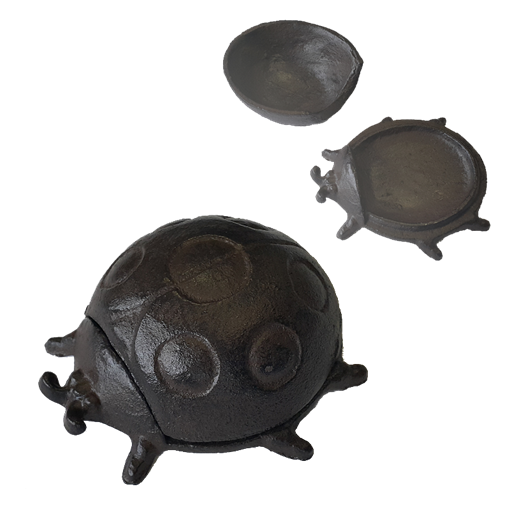 Шкатулка металлическая Божья коровка YM-KH-6062 - фото 186858