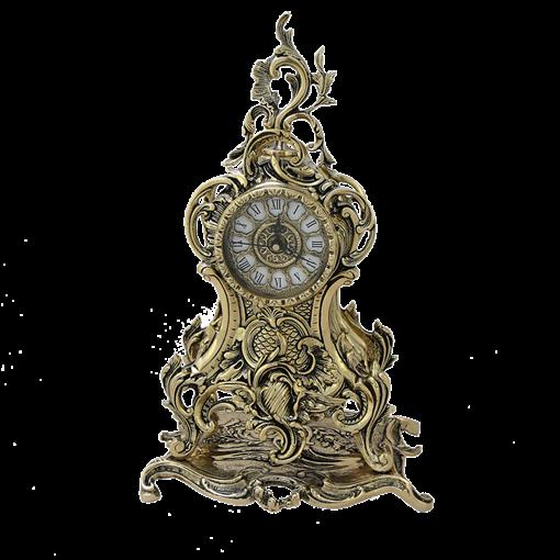 Часы Долфин каминные, золото BP-27089-D - фото 186919