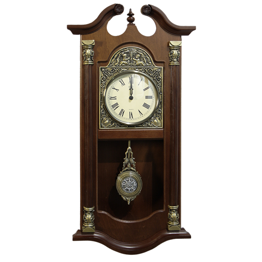 Часы Венские настенные с маятником HL-C-3016-A - фото 186993