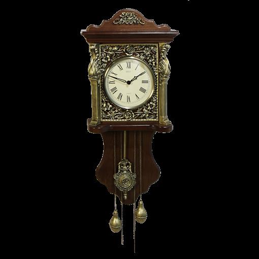 Часы Берлинер настенные с маятником HL-C-5008-A - фото 186996