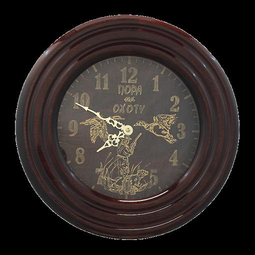 Часы настенные деревянные Ч-ОХ - фото 187419