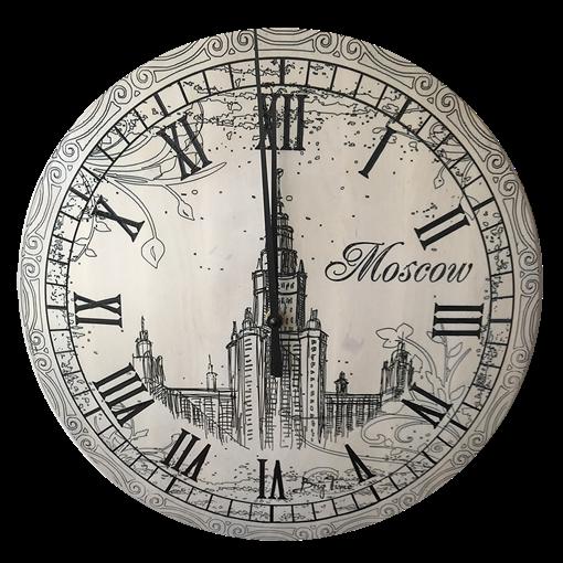 Часы настенные деревянные Ч-11 - фото 187422