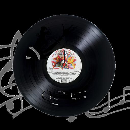Часы виниловая грампластинка  Queen. Freddy Mercury WL-22 - фото 187489