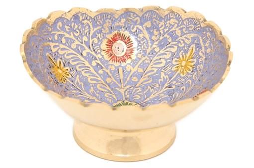Ваза-фруктовница, латунь цветная BE-6500975 - фото 187502