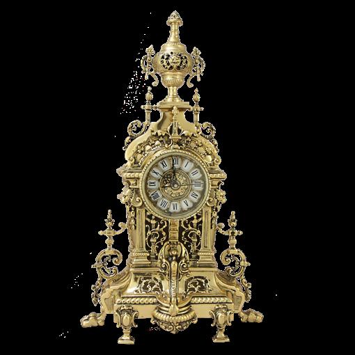 Часы   AHS  каминные бронзовые BP-27081-D - фото 187543